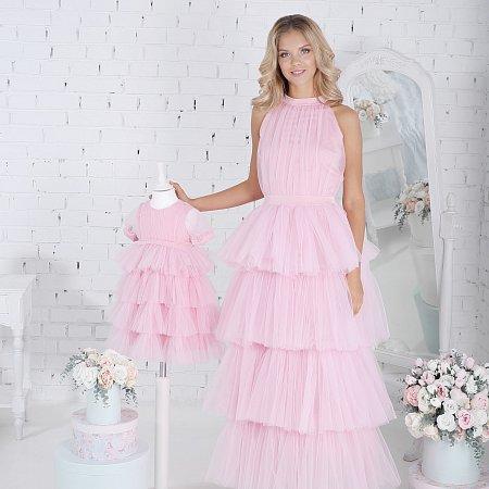 5712dc8f211d Exkluzívne dlhé šaty ružové