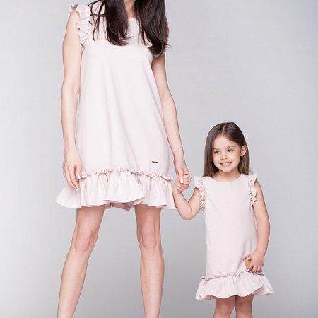 0464cc6c0324 Pretty-letné šaty púdrovo ružové