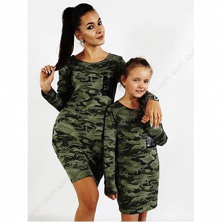 340cd4307a09 Sports šaty s vreckom olivovo zelené