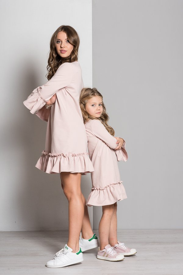 0465ac05de6a Vex-šaty s riaseným rukávom púdrovo ružové • Papi.sk